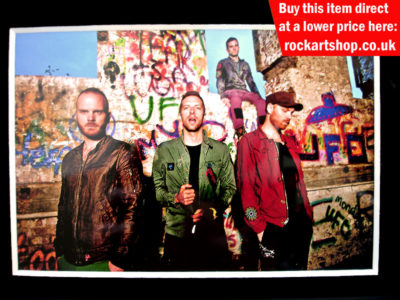 Coldplay Signed Memorabilia