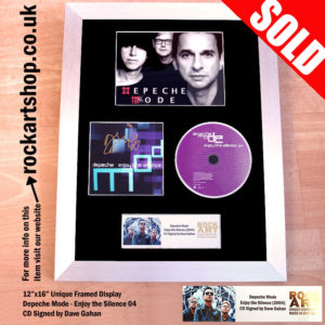 Depeche Mode Enjoy the Silence Signed CD Music Memorabilia