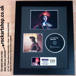 LA ROUX BEN LANGMAID FULLY SIGNED SIDETRACKED CD