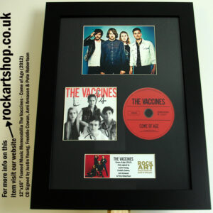THE VACCINES COME OF AGE SIGNED CD JUSTIN FREDDIE ARNI PETE
