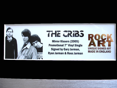 The Cribs Memorabilia