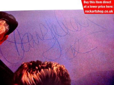Dave Gahan Autograph