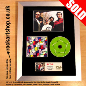 HOT CHIP AUTOGRAPHS IN OUR HEADS SIGNED CD ALEXIS TAYLOR