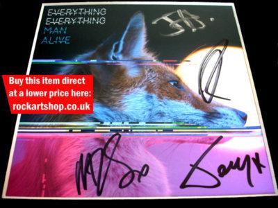 Everything Everything Autographs