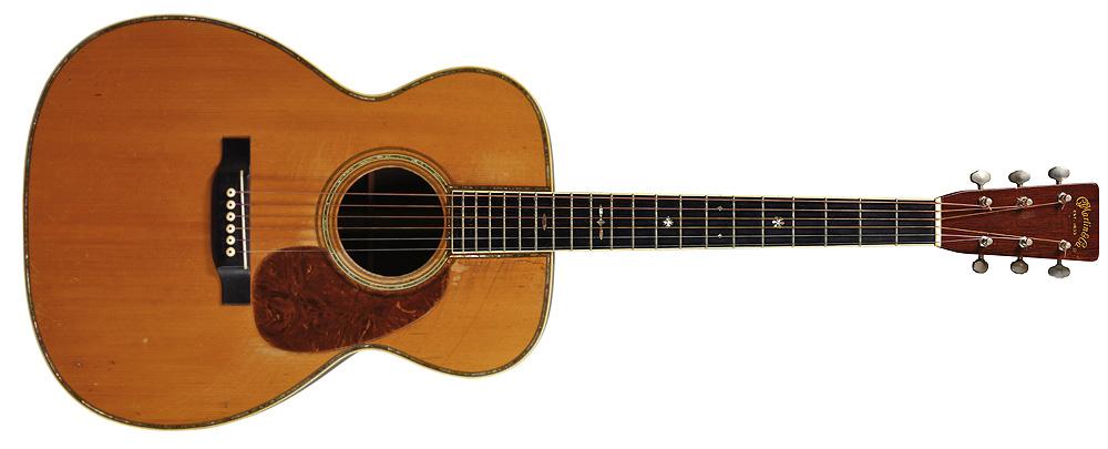 Eric Clapton's 1939 C.F. Martin 000-42 Acoustic Guitar