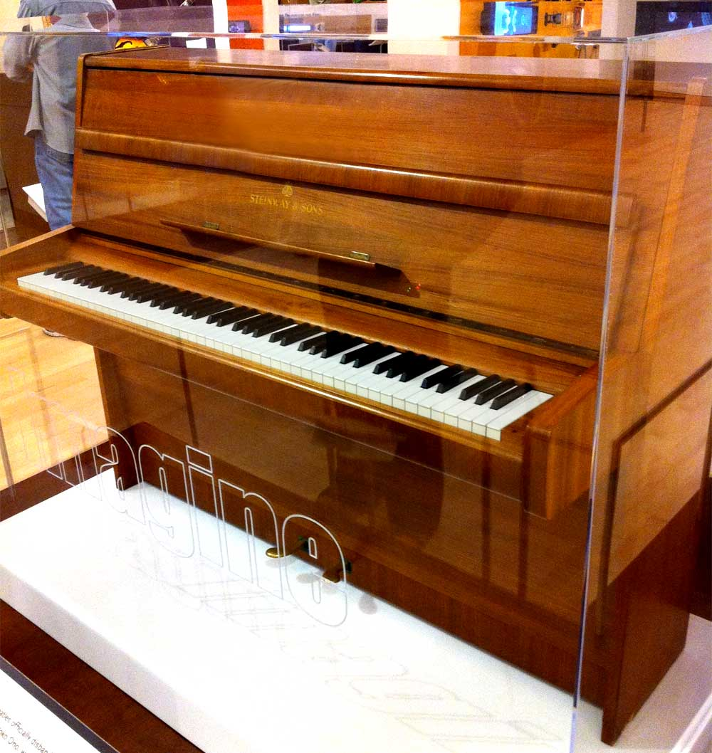 John Lennon's Steinway Piano