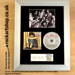 DEXYS MIDNIGHT RUNNERS TOO-RYE-AY CD SIGNED KEVIN ROWLAND