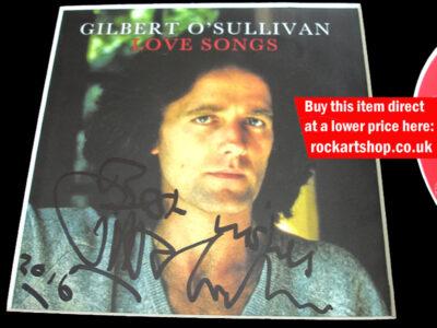 GILBERT O'SULLIVAN SIGNATURE