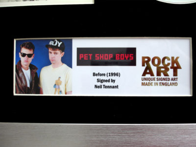 PET SHOP BOYS MEMORABILIA
