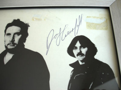 DAVE GREENFIELD AUTOGRAPH