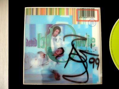 David Bowie Signed Hours CD