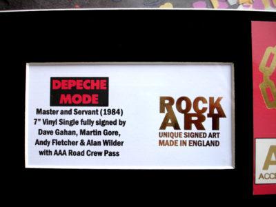 Depeche Mode Memorabilia