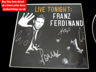 Franz Ferdinand Memorabilia