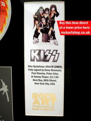 Kiss Music Memorabilia