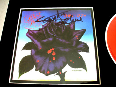 Thin Lizzy Black Rose CD signed by Scott Gorham