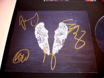Coldplay Fully Signed CD