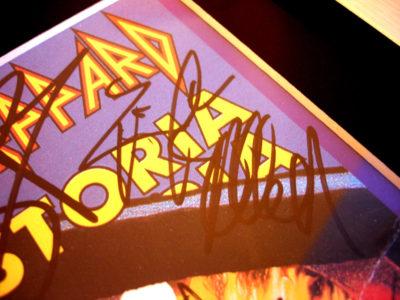 Rick Allen Autograph