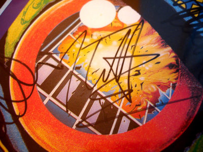 Joe Elliott Autograph