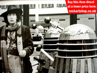 Tom Baker Signature