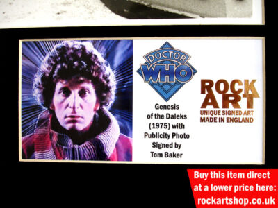 Tom Baker Dr Who Memorabilia