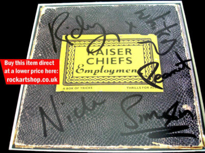 Kaiser Chiefs Fully Signed Employment CD