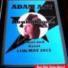 Adam Ant Signed Memorabilia