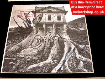 Bon Jovi Autographs