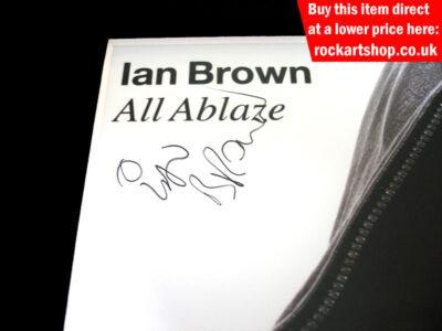Ian Brown Autograph