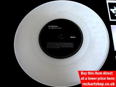 Ian Brown Signed Vinyl