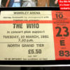 The Who Autographed Memorabilia