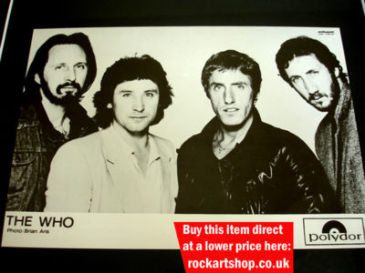 The Who Publicity Photo