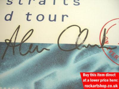 Alan Clark Autograph