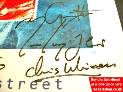 Mark Knopfler, Guy Fletcher, Chris Whitten Autographs