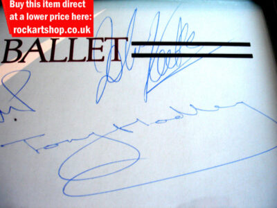 Tony Hadley & John Keeble Autographs