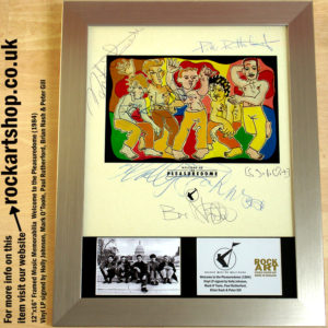 FRANKIE GOES TO HOLLYWOOD FULLY SIGNED PLEASUREDOME VINYL