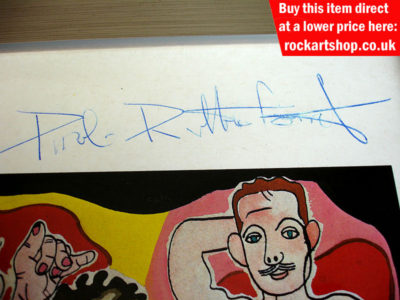 Paul Rutherford Autograph