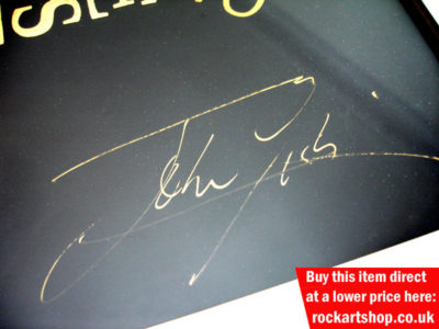 John Giblin Autograph