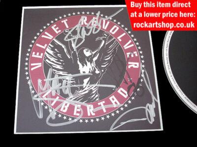 VELVET REVOLVER SIGNED LIBERTAD CD
