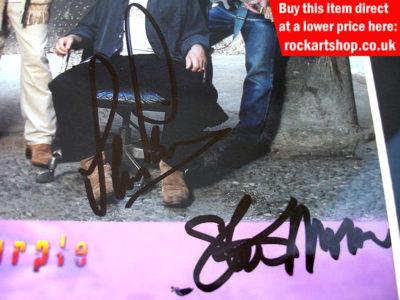 Ian Paice & Steve Morse Autographs