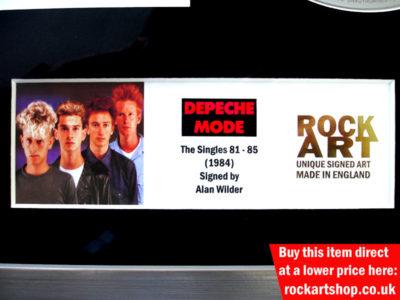 Depeche Mode Autographed Memorabilia