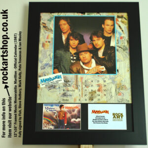 MARILLION MISPLACED CHILDHOOD SIGNED FISH STEVE MARK PETE IAN