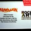 MARILLION AUTOGRAPHED MUSIC MEMORABILIA