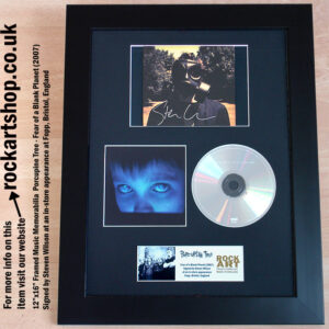 PORCUPINE TREE FEAR OF A BLANK PLANET SIGNED STEVEN WILSON