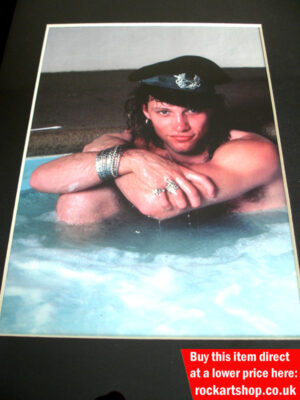 Jon Bon Jovi Jacuzzi Photo