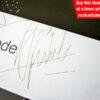 Andy Fletcher Autograph