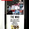 The Who Signed Music Memorabilia
