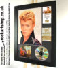 DAVID BOWIE AUTOGRAPHED 1983 SERIOUS MOONLIGHT